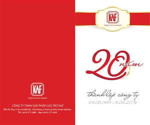 Lễ kỷ niệm 20 năm thành lập Công ty Giải pháp Lưu trữ KAF